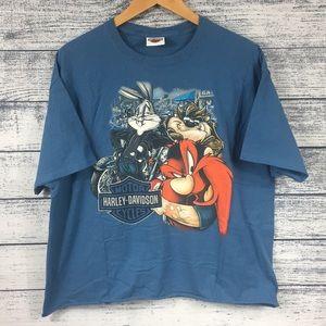 Authentic Harley Davidson X Looney Tunes Tee Shirt